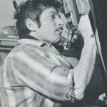 Cyril Lixenberg in his Studio